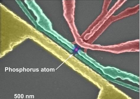 UNSW entanglable atom on silicon