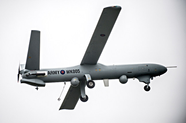 Troubled Watchkeeper Drones Miss Crucial Uk Flight Safety