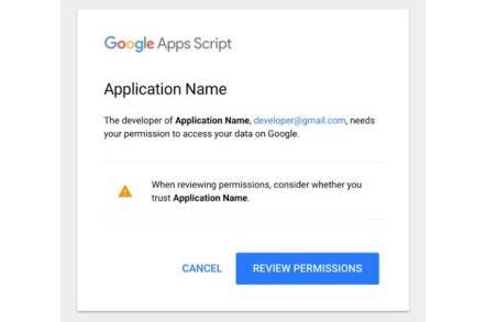 Google G Suite interface