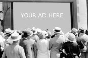 Your ad here on a movie screen