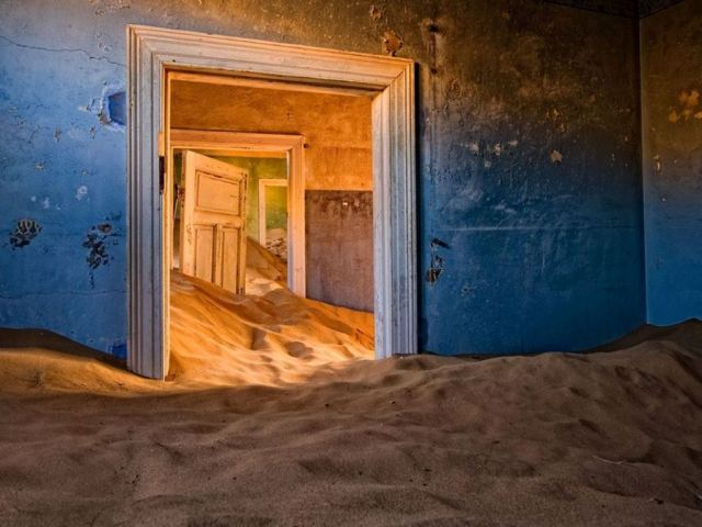 01 - Kolmanskop no deserto da Namíbia