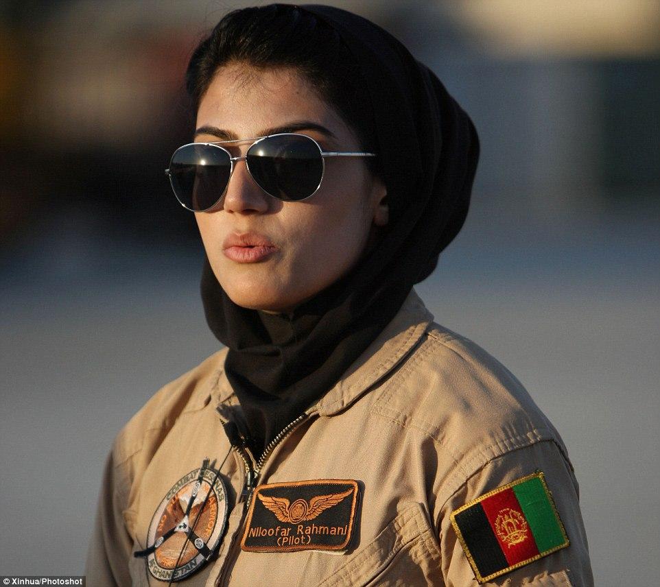 Niloofar Rahmani, a pilota afegã