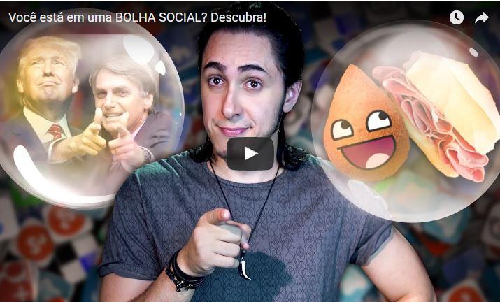 Vídeo do Dia | Bolha social – Felipe Castanhari