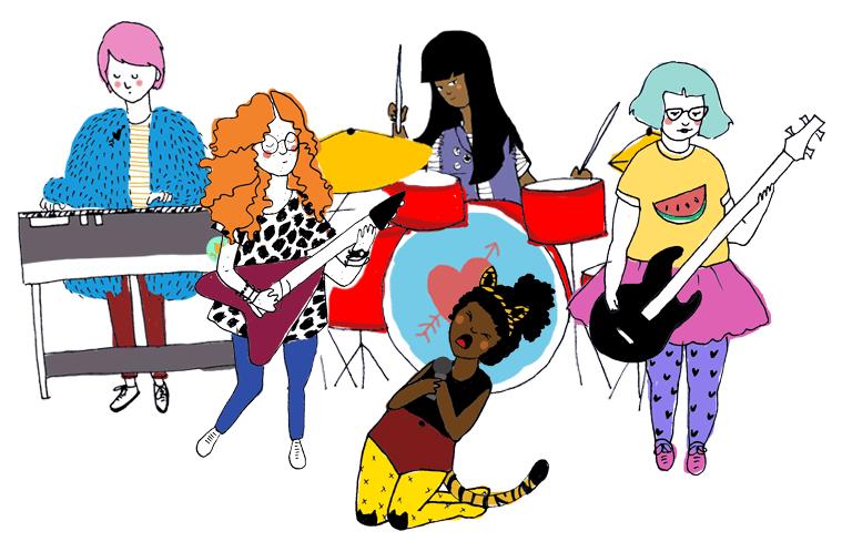 Vem aí o primeiro acampamento musical de meninas de Curitiba