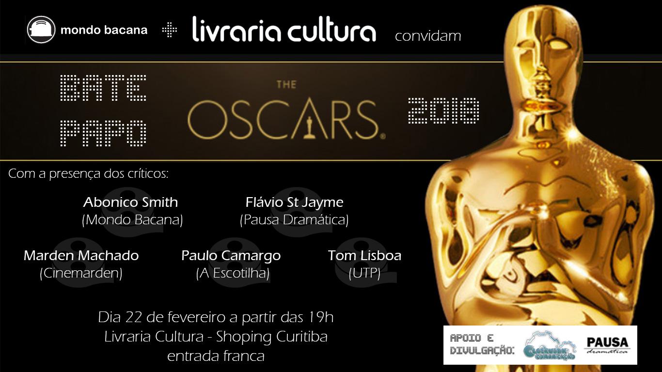 Críticos de cinema de Curitiba se reúnem para comentar o Oscar 2018
