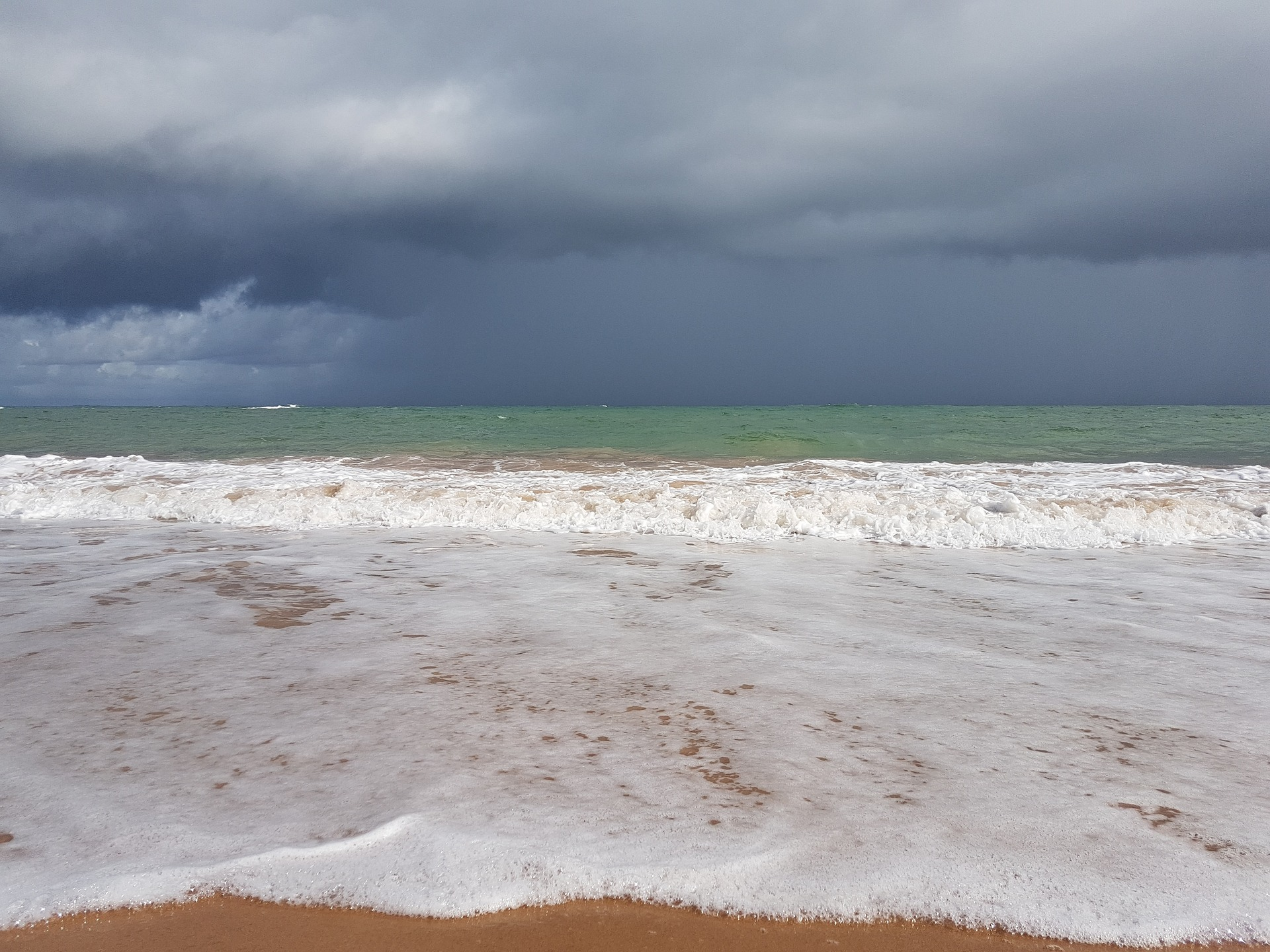 Tempestade no mar interno