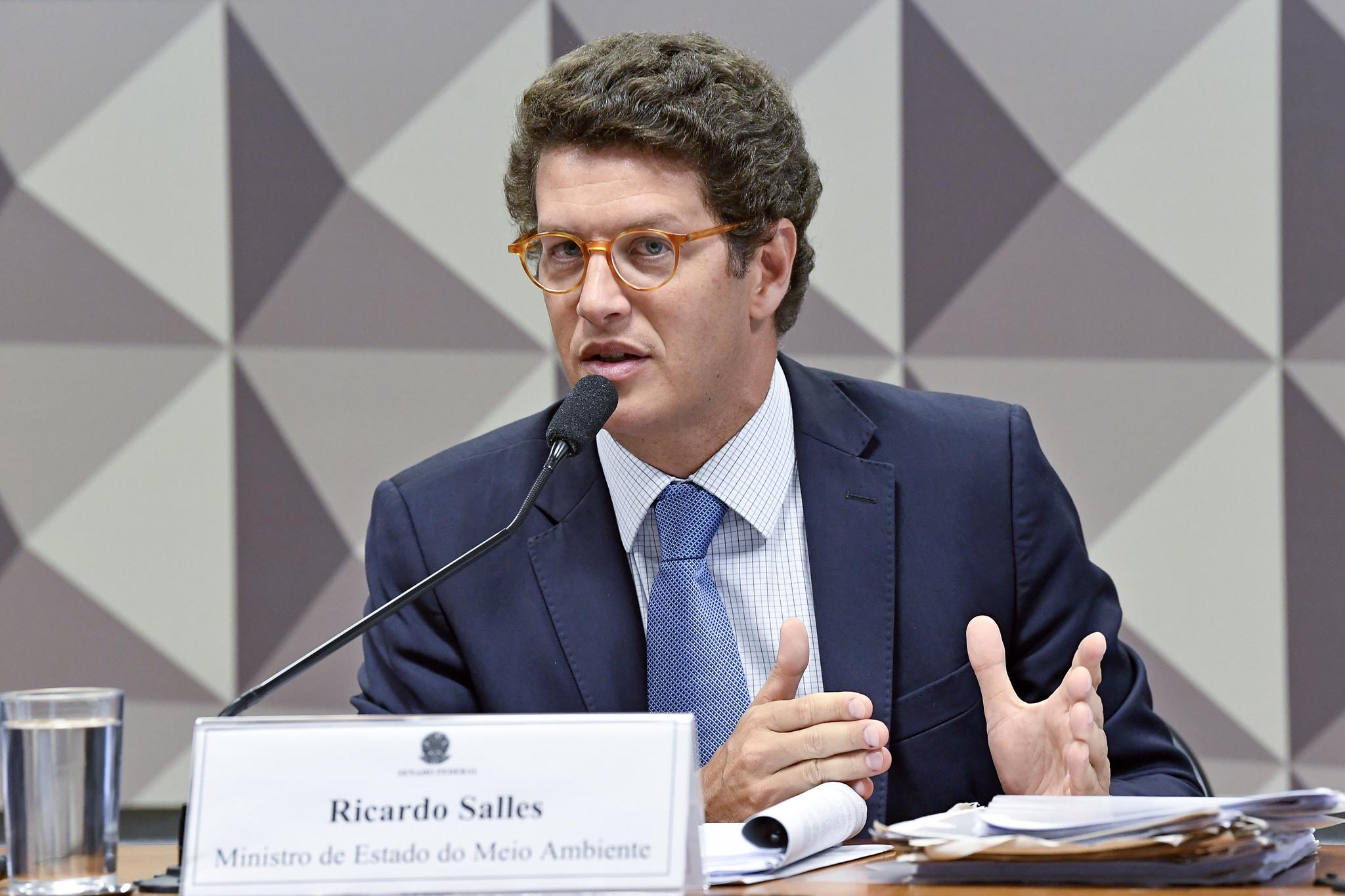 EXONERAÇÃO DE SALLES NÃO SIGNIFICA MUDANÇA DE POLÍTICA AMBIENTAL DO GOVERNO, DIZ GREENPEACE
