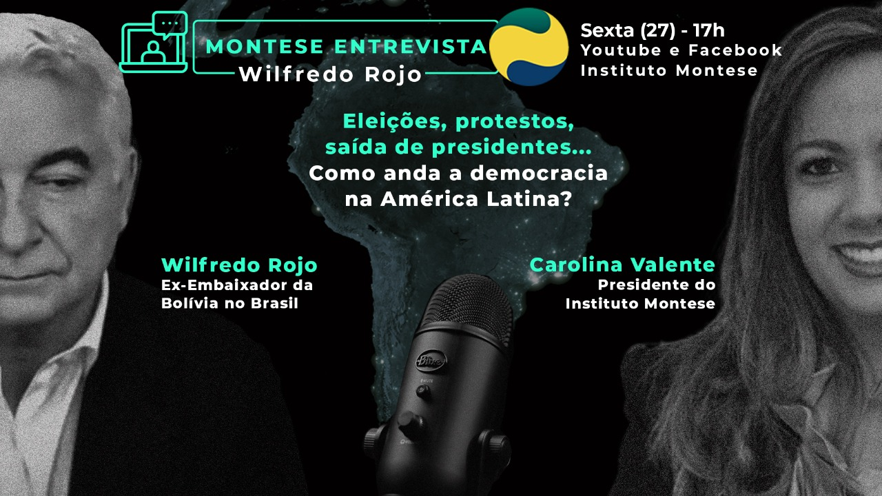 MONTESE ENTREVISTA WILFREDO ROJO EX-EMBAIXADOR DA BOLÍVIA NO BRASIL