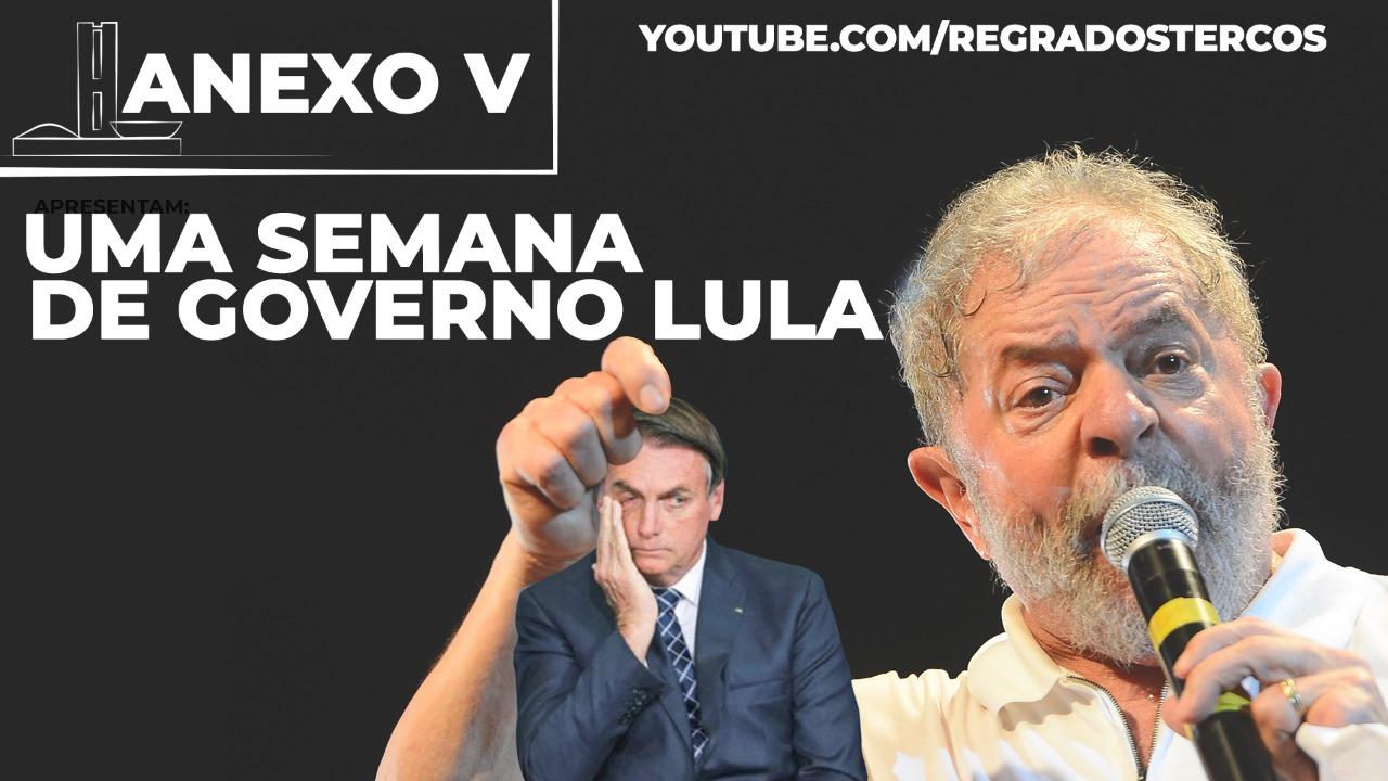 "PRESIDENTE DE MÁSCARA, TROCA DE MINISTRO, VACINA COMO PRIORIDADE: UMA SEMANA DE ""GOVERNO LULA"""