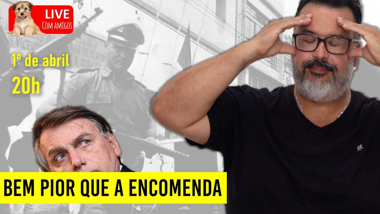 BEM PIOR QUE A ENCOMENDA – LÚCIO BIG FAZ LIVE COM AMIGOS