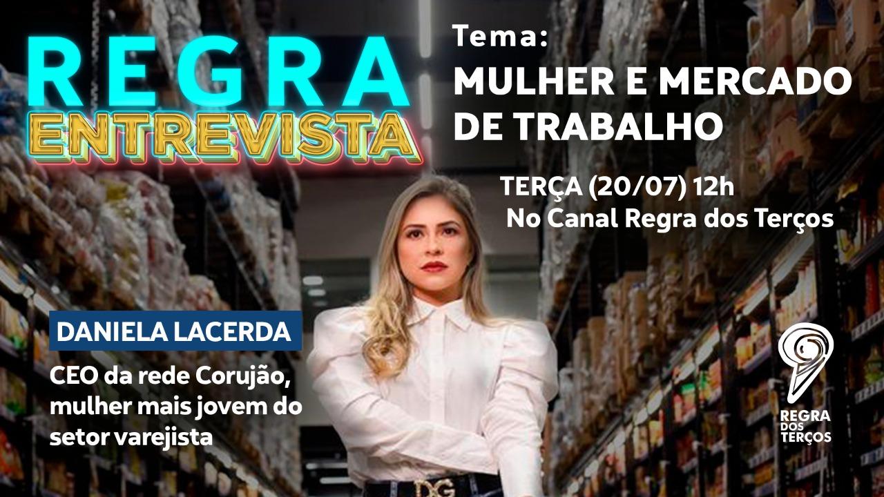 MULHER E MERCADO DE TRABALHO SERÁ O TEMA DO REGRA ENTREVISTA DESTA TERÇA