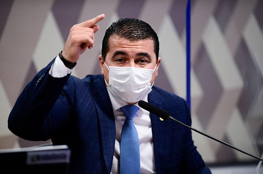 CPI DA PANDEMIA: DEPUTADO LUIS MIRANDA VAI APRESENTAR DOCUMENTO PARA PEDIR PRISÃO DE DOMINGHETTI