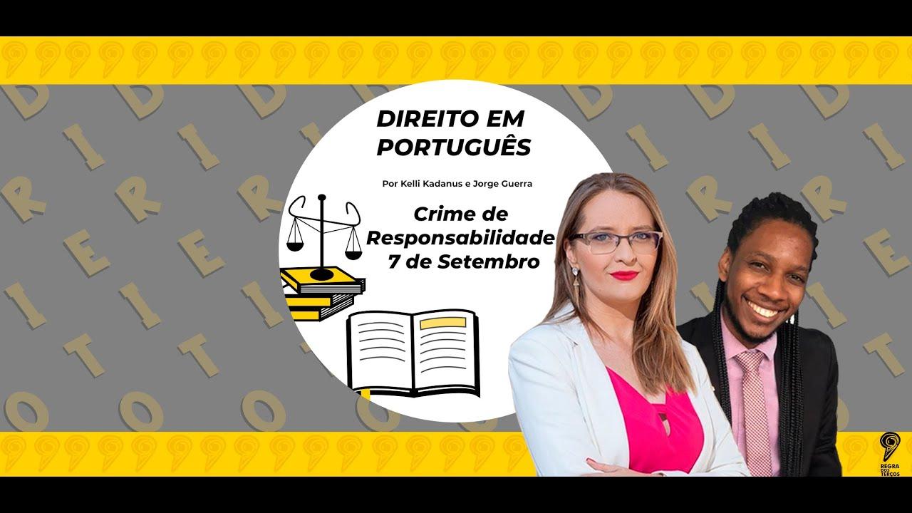 BOLSONARO PODE SER PUNIDO POR FALAS GOLPISTAS DO 7 DE SETEMBRO?