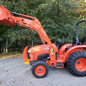 2013 Kubota BX25D Tractor, Loader, Mower, Backhoe & Bagger