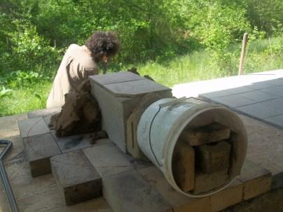 Cob oven form.