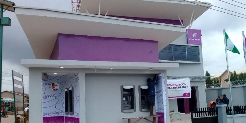 wema bank Maraba branch