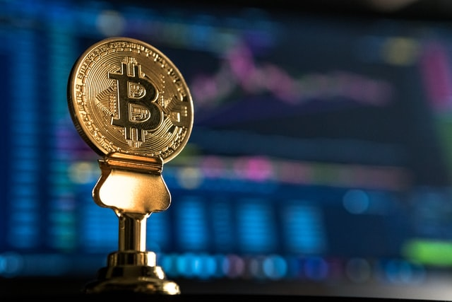 The image of bitcoin as in 2021 bitcoin reached a record high performance