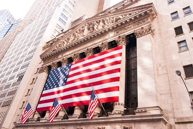 The Building Of NYSE That Following Trump Order Banned China Telecom From Stock Exchange