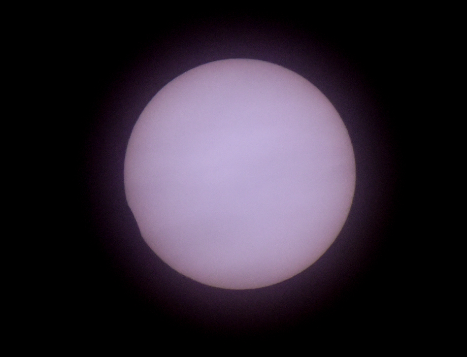 Our viewing of the 10 June 2021 annular solar eclipse from Hampton, NH.