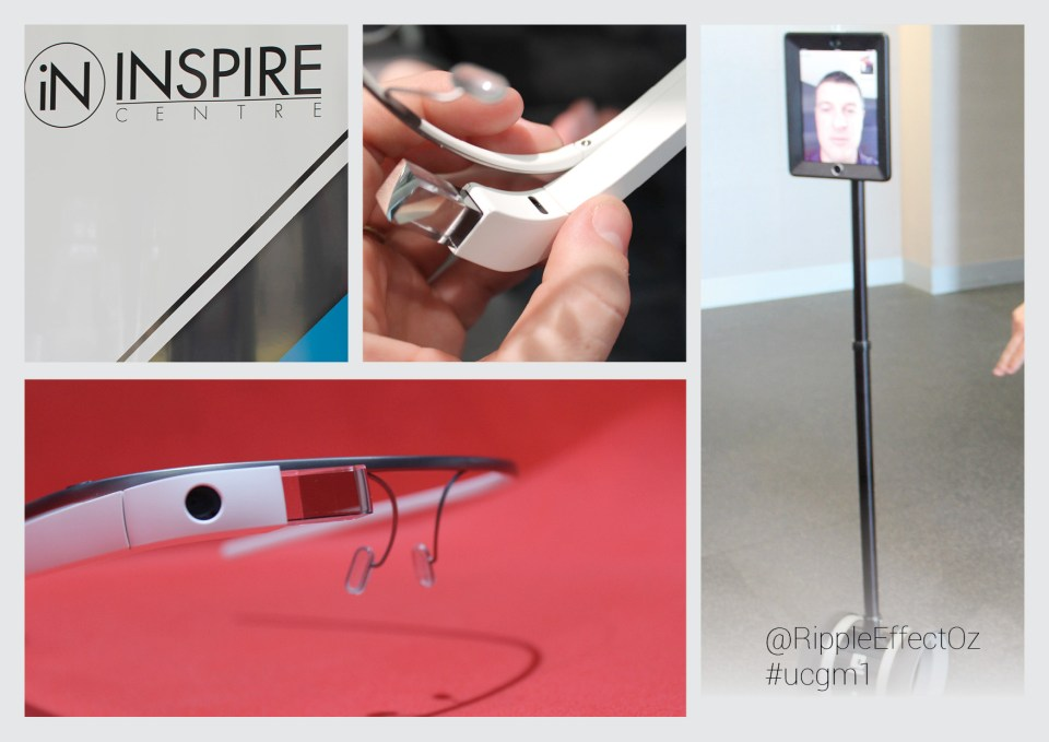 +INSPIRE Centre Google Glass Meetup montage 2