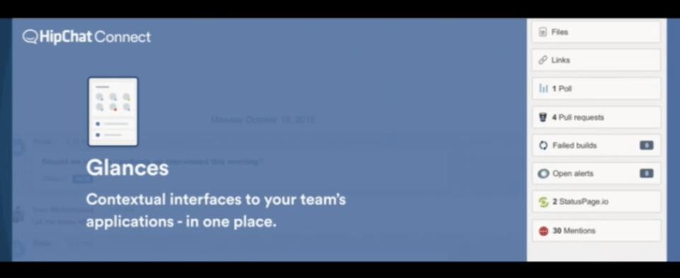 HipChat Glances screenshot