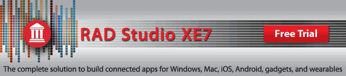RAD Studio XE7 Trial