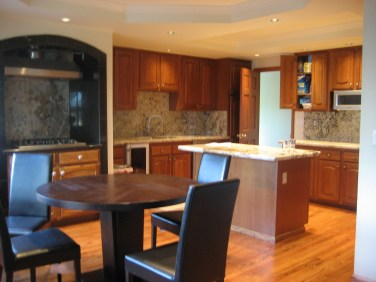 Kitchen Reface with Granite Counter tops