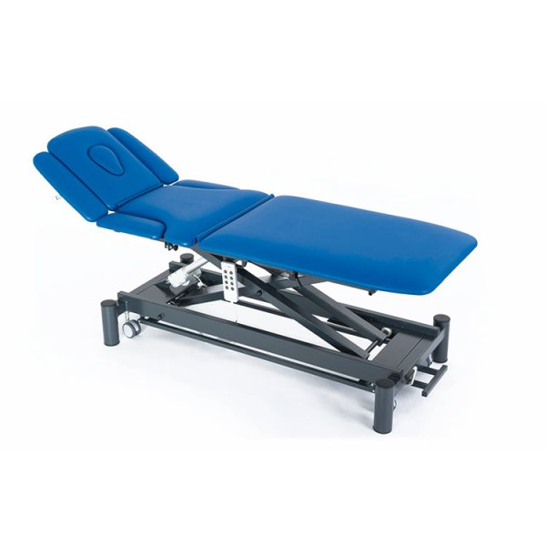 FISIOTECH Giove7 Couch – 7 Section Electrical/Hydraulic Couch w/ Trendelenburg Position, Adjustable Height for Post-Trauma Care Therapy, Rehab Therapy, Examination