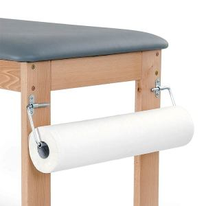 Fisiotech Paper Roll Holder – Metal, Medical Paper Roll Holder for Rehabilitation, Examination, Therapy, Massage Sessions (126020)