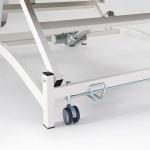 FISIOTECH Castors for Bobath XS and S Series Couches – Positioning Mobility Castors for Examination Tables, Gurneys, and Couches (123010)