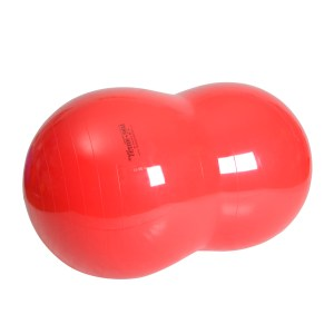 Gymnic Physio Roll 85, Red, Rehabilitation Peanut Balls for Movement & Balance Physiotherapy