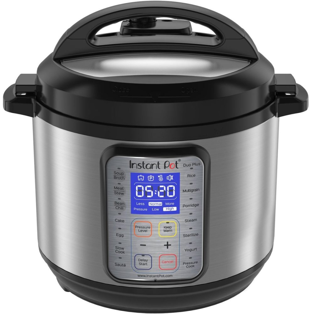 New Year's resolution to cook with the Instant pot.