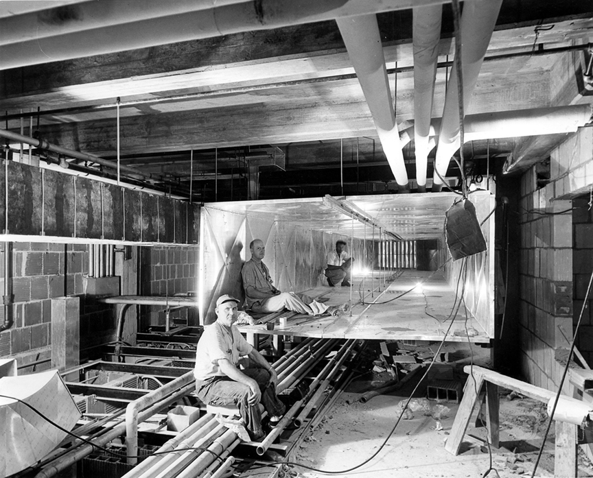 These 1950 photos of the white house renovation are unbelievable.