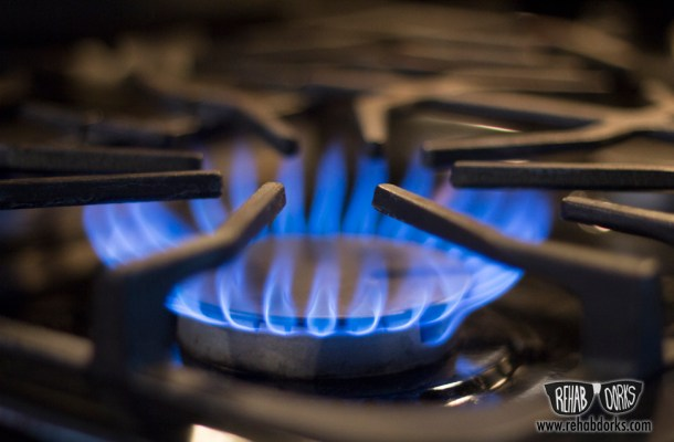 What to do if you smell gas in your home.