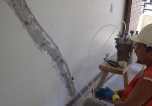 reparación de elementos estructurales