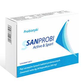 Probiotyki - Sanprobi Aktive & Sport