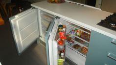 Nevera y congelador de integración bajo encimera