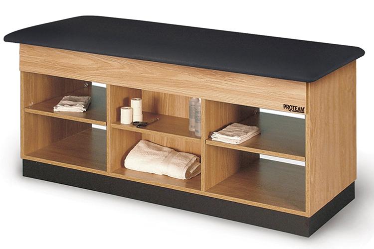 Hausmann Treatment Table With Shelf Storage
