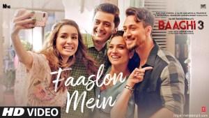 Sachet Tandon – Faaslon Mein ( Baaghi 3 )