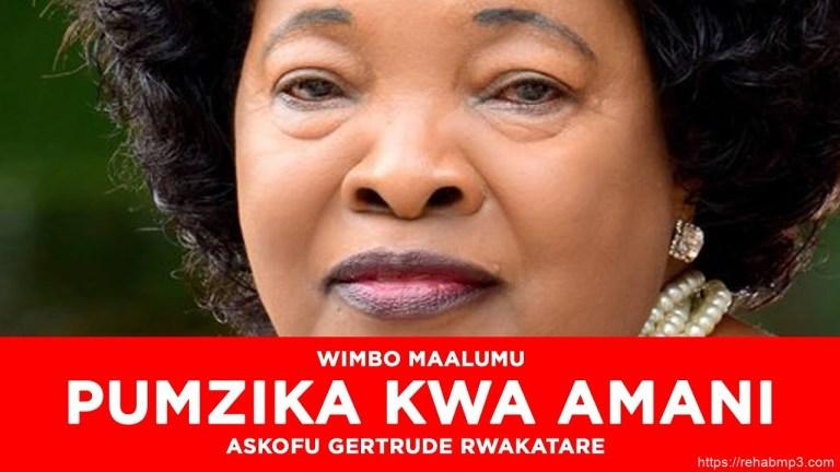 Rose Muhando – Pumzika kwa Amani (Mp3 Download)