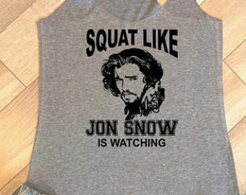 snow squat