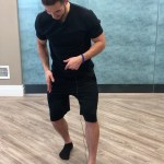Ankle mobilization, ankle stretch, knee pain, plantar fasciitis