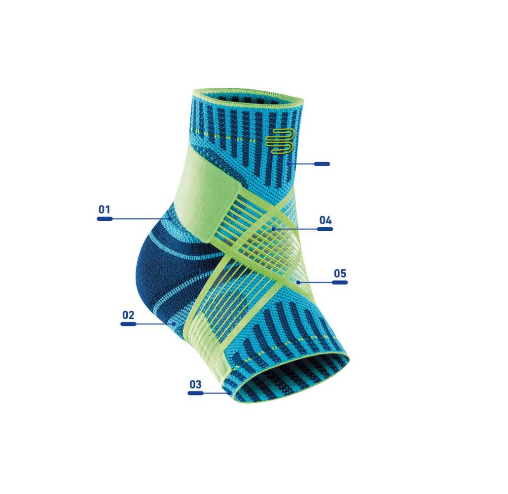 Bauerfeind Sports Ankle Support Features Rehabzone Singapore