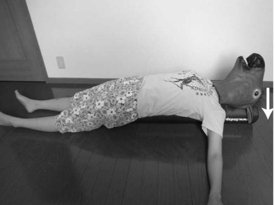 ストレッチポールを使ったリハビリ方法/胸郭の拡大