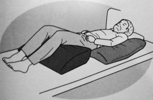 半側臥位のポジショニング|褥瘡予防