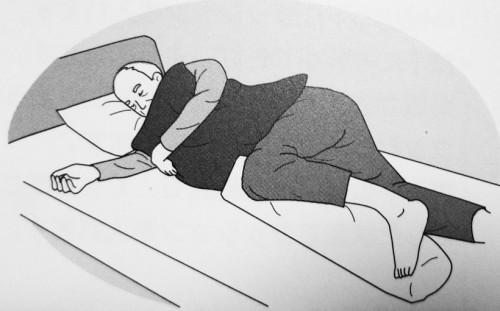 側臥位のポジショニング|褥瘡予防