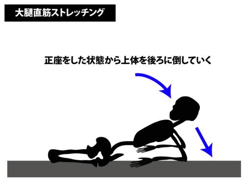 ストレッチング|大腿直筋ストレッチ