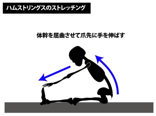 ストレッチ|ハムストリングスの伸張