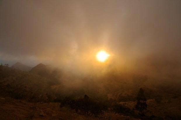 Asmara Mountain Sundawn + Clouds