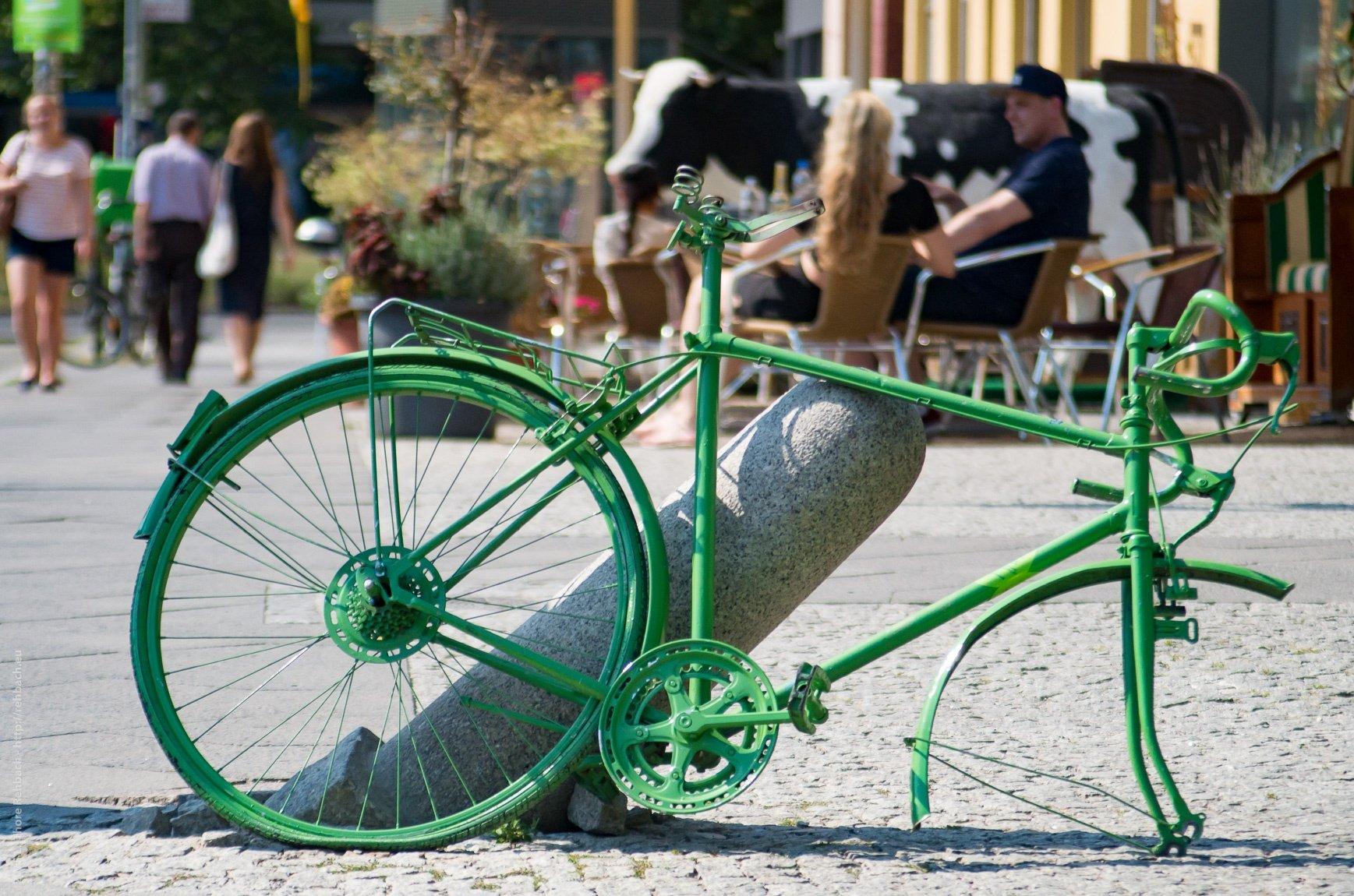 Die bunten Räder von Berlin
